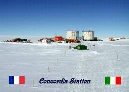 Antarctica Concordia Station New Postcard Antarktis AK - Sonstige