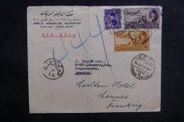 EGYPTE - Enveloppe Commerciale Du Caire Pour La France En 1952, Affranchissement Plaisant - L 38947 - Lettres & Documents
