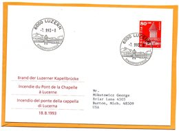 Switzerland 1993 FDC - FDC