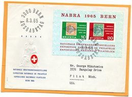 Switzerland 1965 FDC - FDC