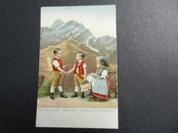 19971) APPENZELLER TRACHTEN COSTUMES APPENZELLOIS FOLKLORE NON VIAGGIATA - AI Appenzell Rhodes-Intérieures