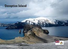 Antarctica Deception Island View New Postcard Antarktik AK - Sonstige