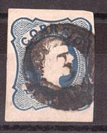 Portugal - 1856/58 - N° 10 (cheveux Bouclés, Type III ) - Dom Pedro V - 1855-1858 : D.Pedro V