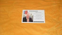 BON GRATUIT GEORGES BRASSENS EDITIONS HORS COMMERCE...EDITIONS DU GRESIVAUDAN SEYSSINET GRENOBLE - Werbung