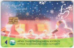 CYPRUS A-237 Chip Telecom - Occasion, Christmas - Used - Cyprus