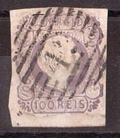 Portugal - 1855/56 - N° 8 (cheveux Lisses) - Dom Pedro V - Cote 120 - Used Stamps