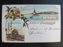 AK CONSTANTINOPLE Litho Levante 1899 //  D*39827 - Türkei