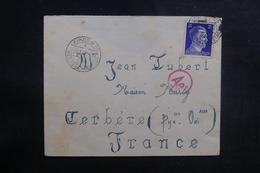 ALLEMAGNE - Enveloppe De Leipzig Pour La France En 1944 Avec Contrôle Postal - L 38957 - Allemagne