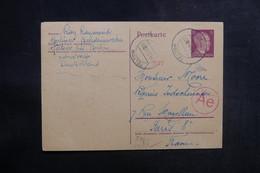 ALLEMAGNE - Entier Postal De Teltow Pour La France En 1944 Avec Contrôle Postal - L 38958 - Allemagne