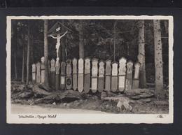 Dt. Reich AK Tottenbretter I. Bayer. Wald 1937 - Deutschland