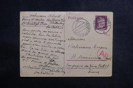 ALLEMAGNE - Entier Postal De Heilbronn Pour La France En 1944 Avec Contrôle Postal - L 38959 - Allemagne