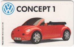GERMANY O-Serie B-247 - 1374 07.94 - Traffic, Car, VW - MINT - Deutschland