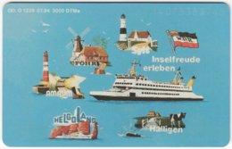 GERMANY O-Serie B-248 - 1339 07.94 - Traffic, Ship - MINT - Deutschland