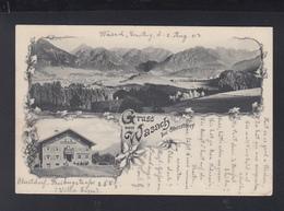 Bayern AK Wasach Bei Oberstdorf 1903 - Oberstdorf