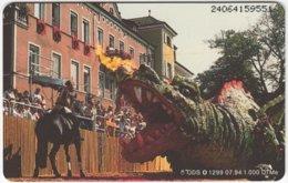 GERMANY O-Serie B-250 - 1299 07.94 - Event,  Festival, Dragon - MINT - Deutschland