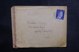 ALLEMAGNE - Enveloppe De Berlin Pour La France En 1944 Avec Contrôle Postal - L 38960 - Allemagne