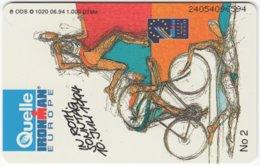 GERMANY O-Serie B-260 - 1020 06.94 - Event, Sport, Ironman - MINT - Deutschland