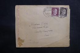 ALLEMAGNE - Enveloppe De Berlin Pour La France En 1943 Avec Contrôle Postal - L 38964 - Allemagne