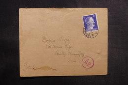 ALLEMAGNE - Enveloppe De Berlin Pour La France En 1943 Avec Contrôle Postal - L 38965 - Allemagne