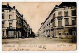Bruxelles Perspective De La Rue De La Loi Lagaert 63 1905 - Avenues, Boulevards