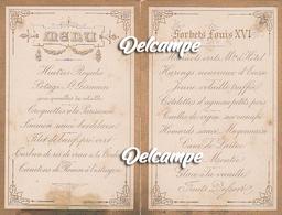 "Menukaart - 1888-07-04 Te Croix ""Monluiz Nolf"" - Menus"