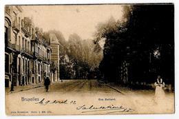 Bruxelles Rue Belliard 1902 - Avenues, Boulevards
