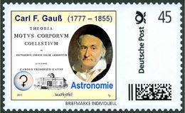GAUSS, C.F. - Astronomy - Ceres - Göttingen Observatory - Marke Individuell - Wissenschaften