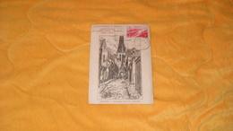 CARTE POSTALE AMICALE PHILATELIQUE DE NEMOURS / CENTENAIRE DU TIMBRE POSTE FRANCAIS 1849 1949..CACHETS + TIMBRE - 1921-1960: Modern Tijdperk