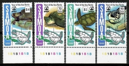Samoa 1995 / Reptiles Turtles MNH Tortugas Schildkröte / Cu14400  40-17 - Tortugas