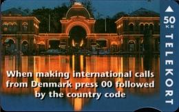 ! 50 Kr Telefonkarte, Telekort, Phonecard, 1994 Dänemark, Tele Danmark, Denmark, Tivoli - Dänemark