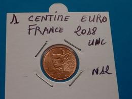 1 CENTIME EURO FRANCE 2018 Unc  ( 2 Photos ) - France