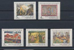Czechoslovakia -  M: 2789/2793, Year 1984 - Vegetales