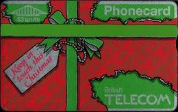 ! Telefonkarte, Old Phonecard,  United Kingdom, British Telecom, Christmas - United Kingdom