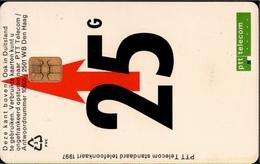 ! 25 Gulden Telefonkarte, Old Phonecard,  Niederlande, Netherland, Nederland - öffentlich