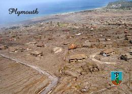 Montserrat Plymouth Aerial View New Postcard - Antilles
