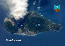 Montserrat Island Aerial View New Postcard - Antilles