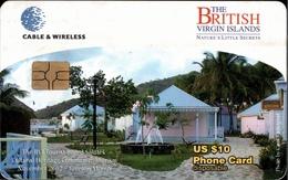 !  Telefonkarte, Phonecard, British Virgin Islands, BVI, Cable & Wireless - Antilles (Other)