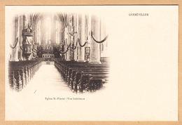 CPA Gerbeviller, Eglise St- Pierre- Vue Interieure, Ungel. - Gerbeviller