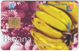 INDONESIA A-289 Chip Telekom - Plant, Fruit - Used - Indonesien