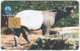 INDONESIA A-304 Chip Telekom - Animal, Tapir - Used - Indonesien