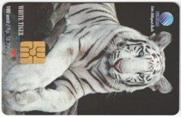 INDONESIA A-305 Chip Telekom - Animal, Cat, Tiger - Used - Indonesien