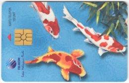 INDONESIA A-312 Chip Telekom - Animal, Fish - Used - Indonesien