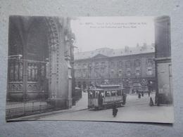 Carte Postale  - METZ (57) - Portail De La Cathédrale Et Hôtel De Ville (3102) - Metz