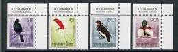 Papua Neuguinea MiNr. 647-50 Postfrisch MNH Vögel (Vög2794 - Papua Nuova Guinea