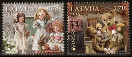 Lettland MiNr. 941/42 ** Europa: Historisches Spielzeug - Lettland