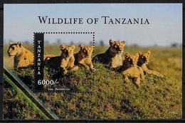 TANZANIE - ANIMAUX SAUVAGES - LIONS - BF 606 - NEUF** - Felinos