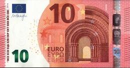 ! 10 Euro F002D1, FA2286972684, Unc., Currency, Banknote, Billet Mario Draghi, EZB, Europäische Zentralbank - 10 Euro