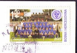 BOSNIA & HERZEGOVINA - FOOTBALL CHAMPION  ZELJEZNICAR -  2001 - Bosnië En Herzegovina
