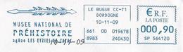 (MS) France, Les Eyzies De Tayac (2009) : Harpon, Pêche / Harpoon Fishing. Préhistoire / Prehistory. EMA SATAS Meter. - Prehistoria