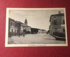 Formignana Via Della Vittoria Non Viaggiata - Ferrara